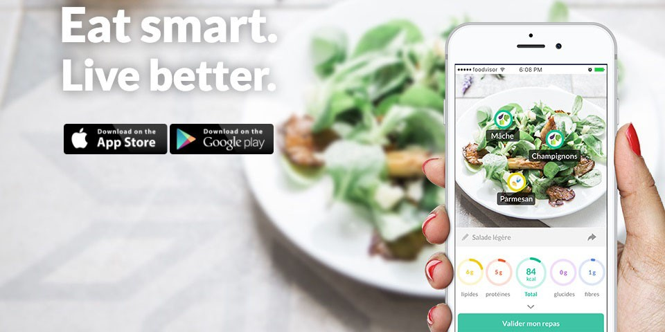 Foodvisor, l'application pour manger plus sainement
